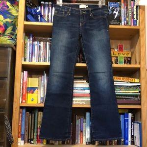 ABERCROMBIE NY-'EMMA' slim STRETCH bootcut jeans